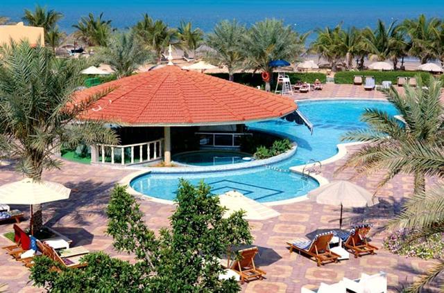 Bin Majid Beach resort - cabanas