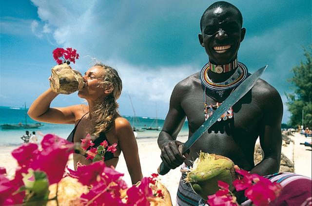 exotická dovolená Keňa