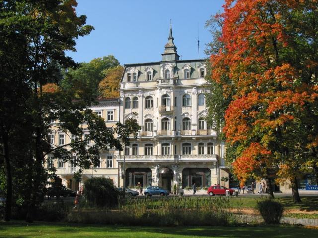 Lázeňské lenošení v hotelu Polonia