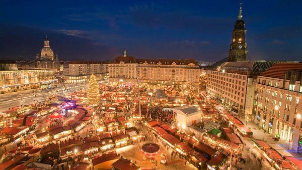 Adventní svátky - Drážďany