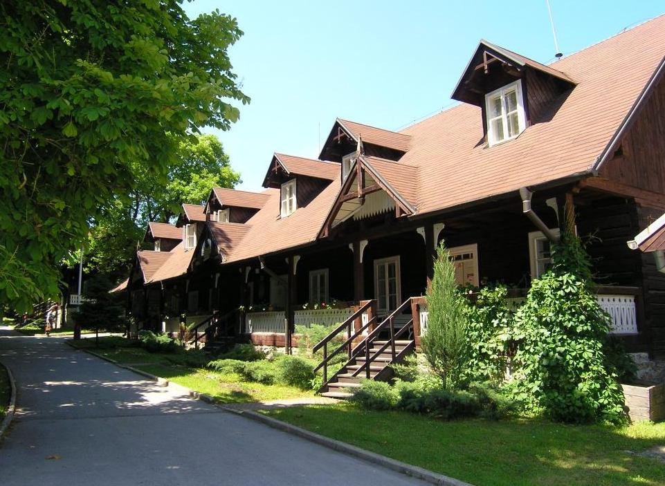 Švýcarské domky: Relaxační lázeňský pobyt