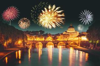 Silvestr v Římě 2015
