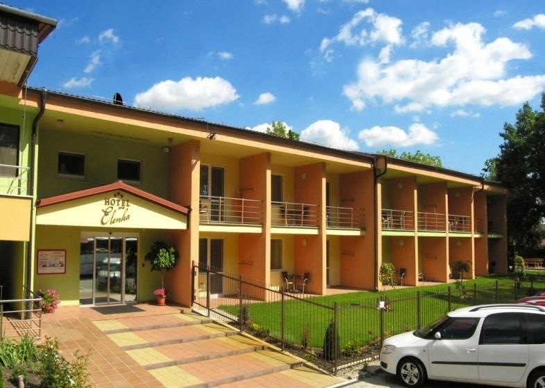 Velký Meder hotel Elenka - termály