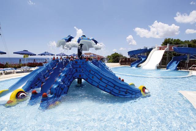 Hotel Rodos Princess dovolená s aquaparkem Řecko