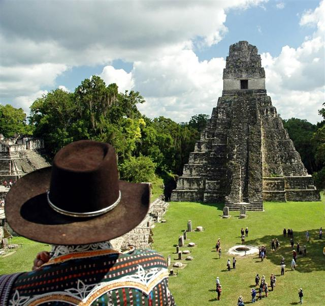 Mayské památky Střední Ameriky