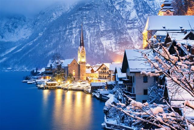 Hallstatt a Vánoce v Solné komoře - romantika rakouského adventu
