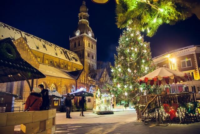 Riga v době adventu
