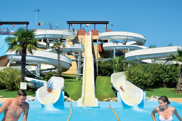 Res. komplexy s bazénem Caorle