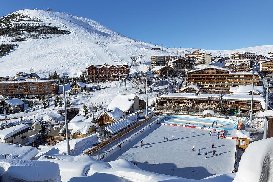 Priv. apartmány Alpe d´Huez