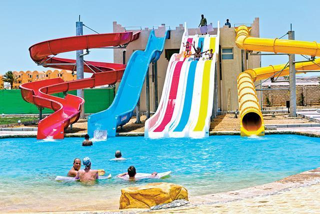 dovolená s aquaparkem v Egyptě