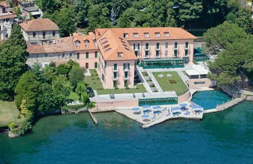 Residence Antico Verbano s bazénem – Meina / Lago di Maggiore