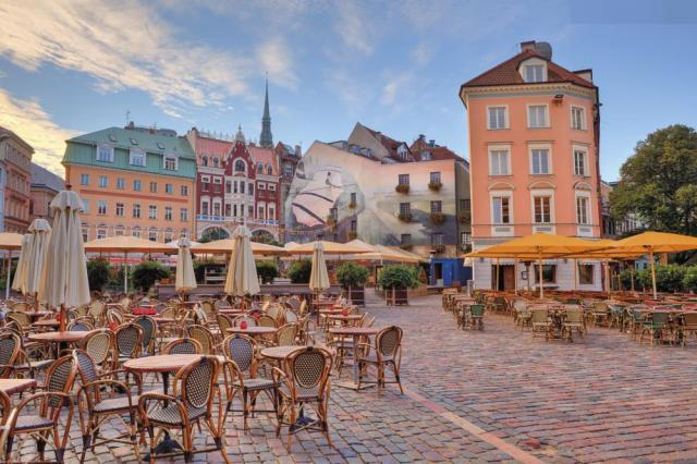 Riga a Tallinn