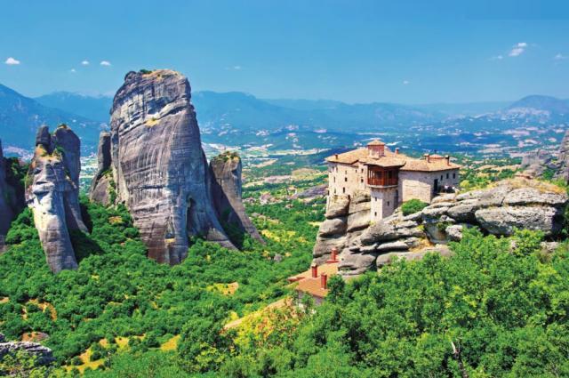 Významné památky Řecka a pobyt na ostrově Lefkáda