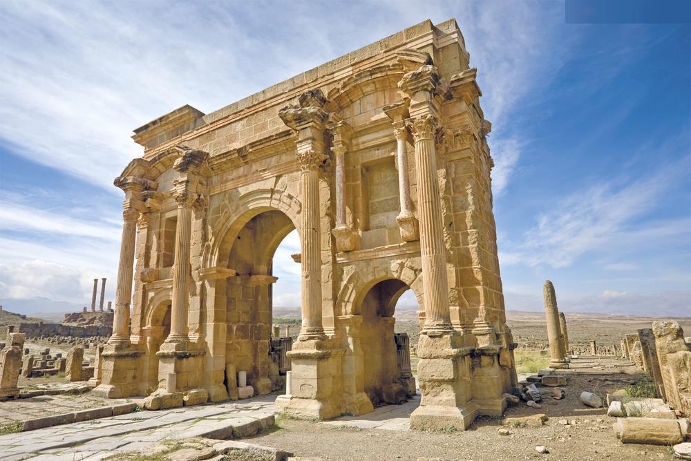 Alžírsko Římské, země M´Zab a Sahara