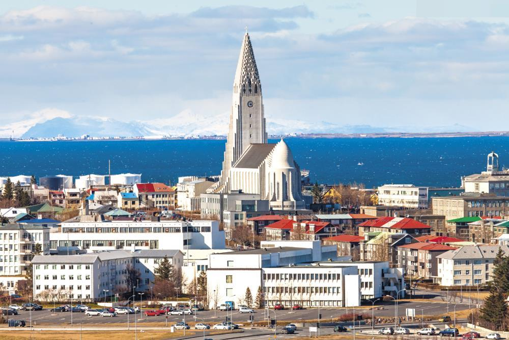 Islandská zastavení