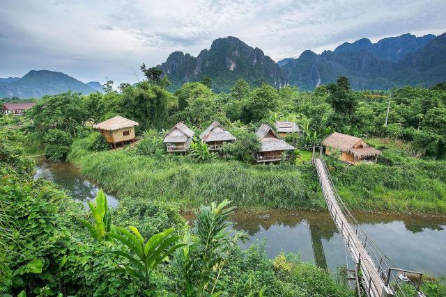 Thajsko - Barma - Laos