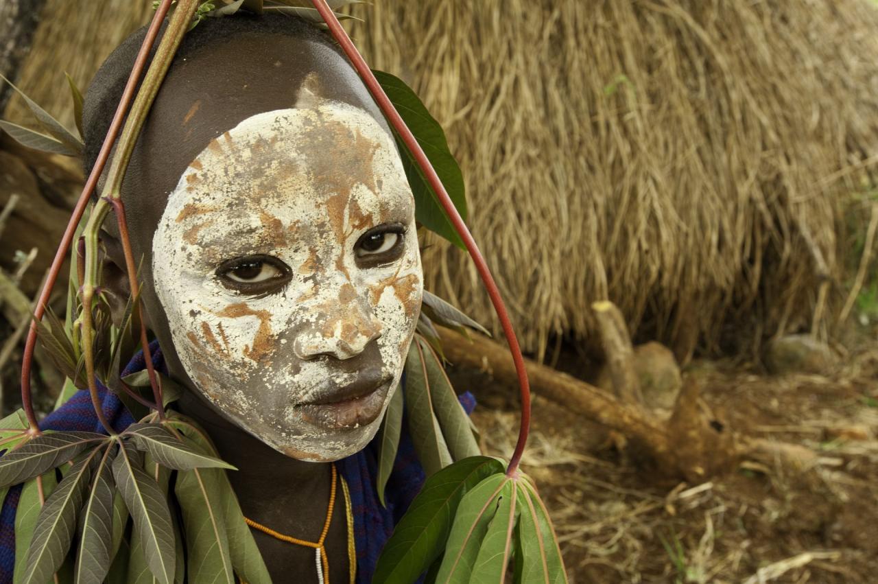 ETIOPIE - Nejzajímavější kmeny Afriky