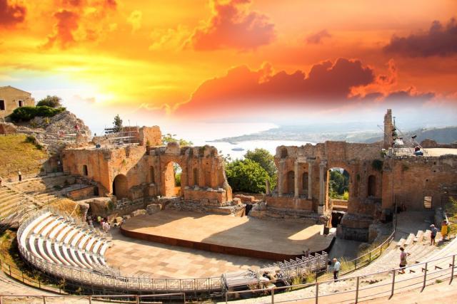 Velký okruh Sicílií, Egadské ostrovy a návštěva Apulie