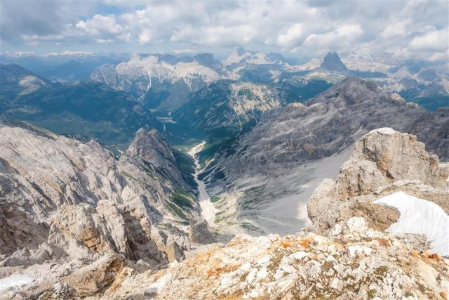 Fassa a Fiemme - top údolí Dolomit