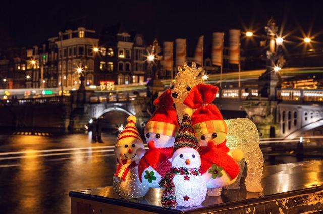Vánoční kouzlo Amsterdamu a adventní slavnost světel