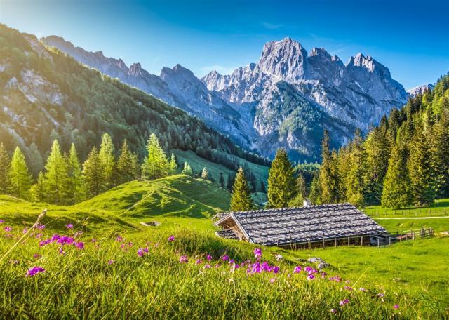 Bavorské Alpy, Orlí Hnízdo, zámky Ludvíka II. a Innsbruck