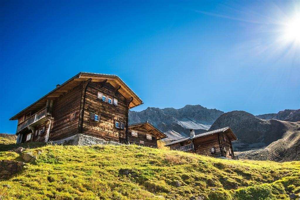 Arosa s kartou, srdce Švýcarska