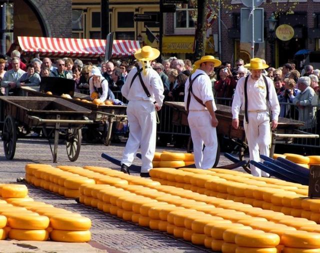 Květinové korzo s návštěvou parku Keukenhof a trhu sýrů v Alkmaaru