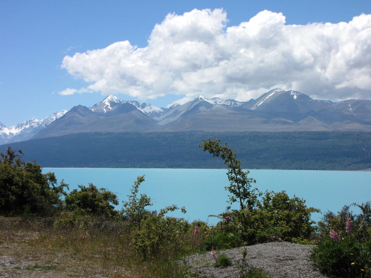 Karavanem po jižním ostrově Nového Zélandu