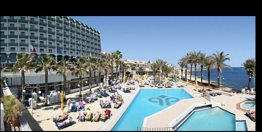 Hotel Qawra Palace - Malta pro seniory 55+