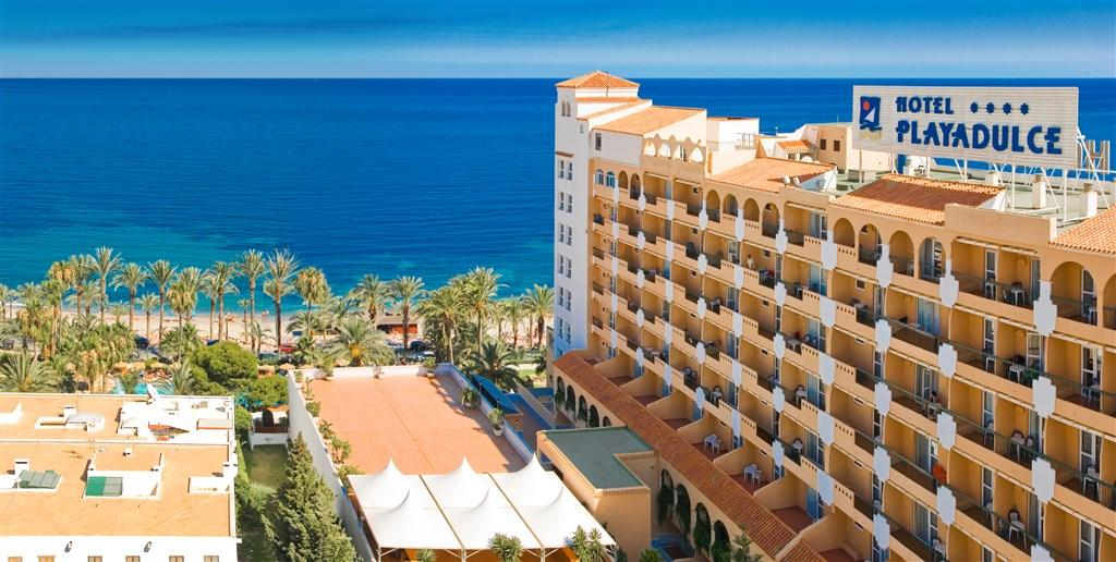 Hotel Playadulce - Costa de Almería pro seniory 55+