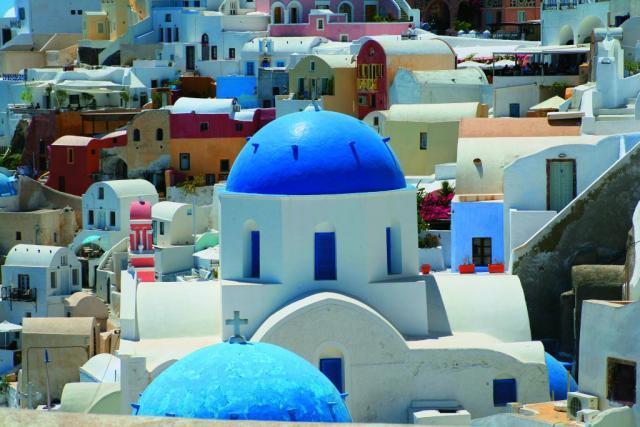 Santorini - Paros - Naxos