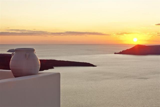 Athény - Santorini - Ios - Mykonos - Athény