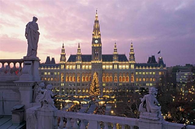 Advent ve Vídni a Dolním Rakousku