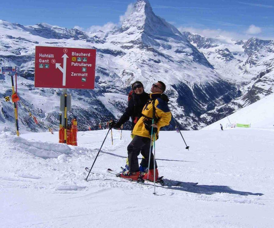Jarní lyžování Cervinia - Zermatt