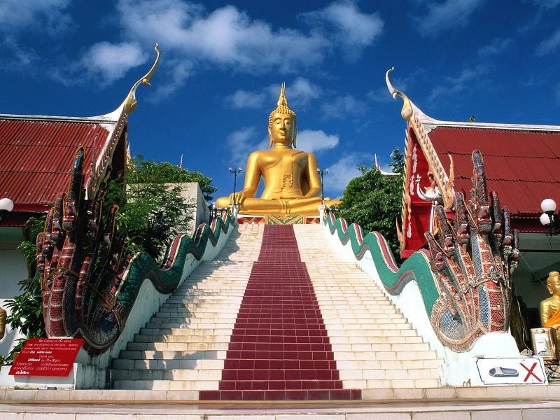 Nejkrásnější ostrovy a pláže Thajska