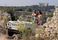 Malta - v jeepu a na čtyřkolkách