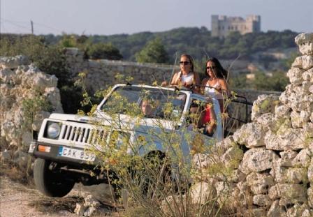 Malta - v jeepu, na čtyřkolkách i na lodi