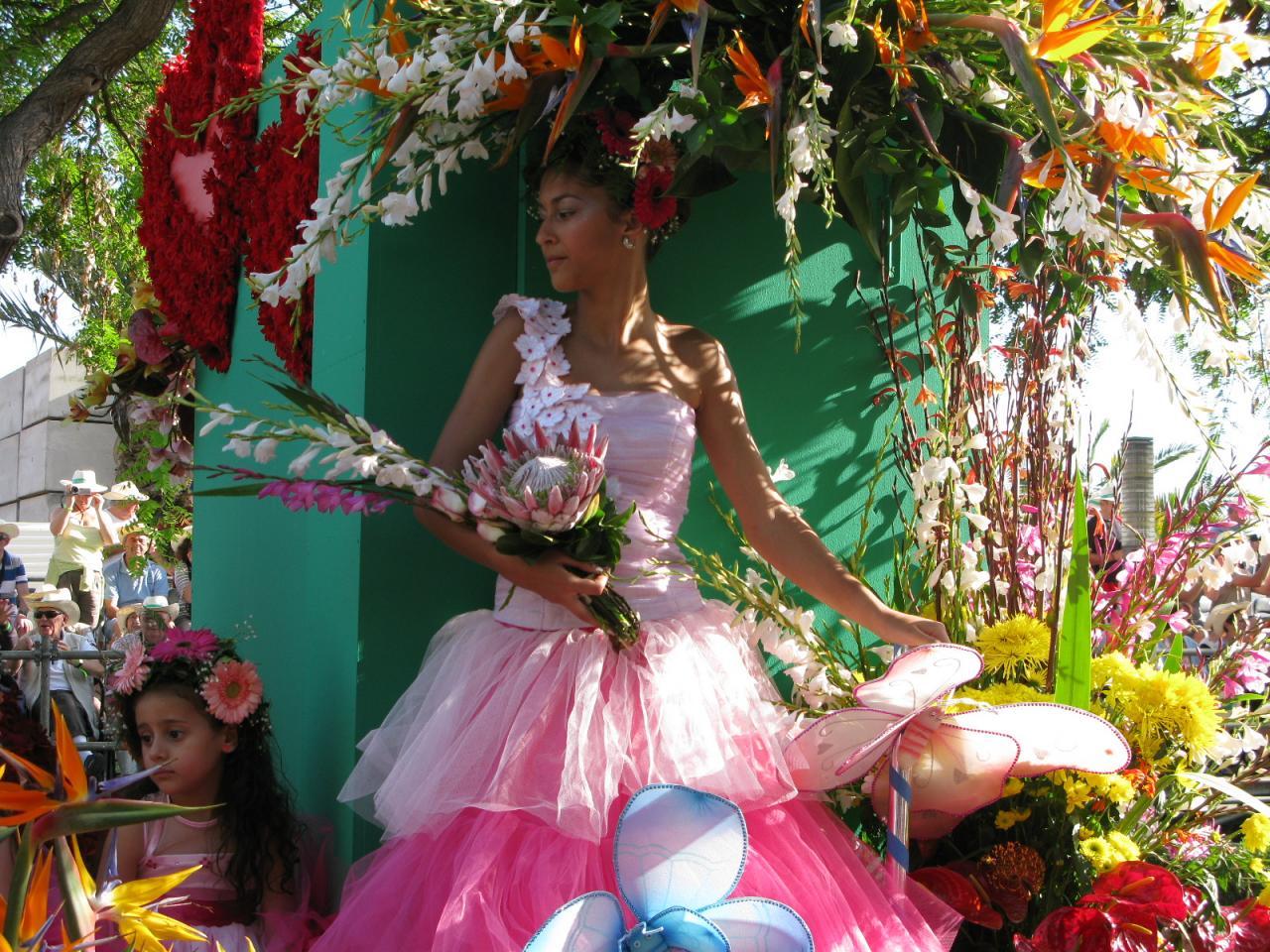 Madeira - květinové slavnosti - Imperatriz