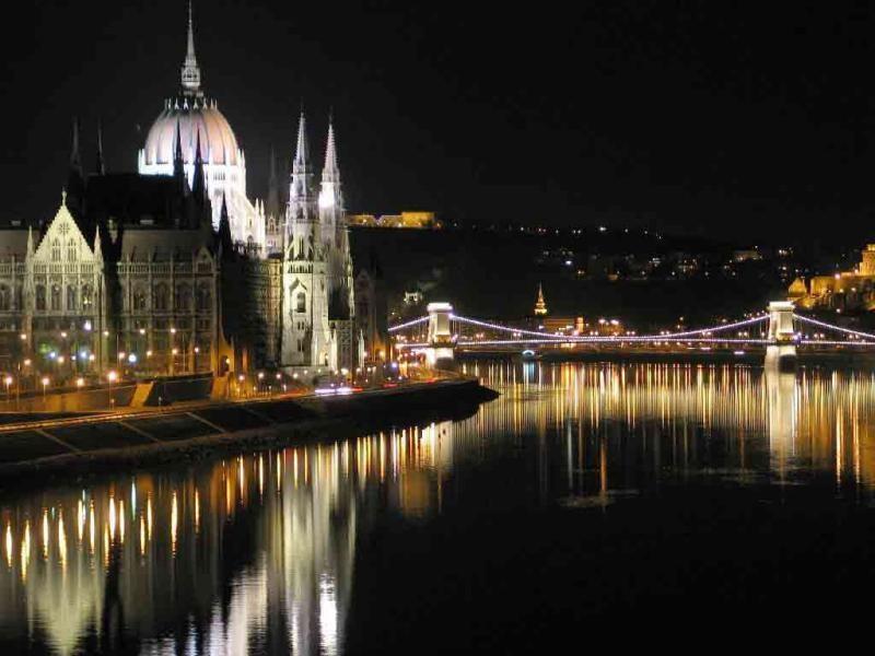 Budapešť, nákupy a termály