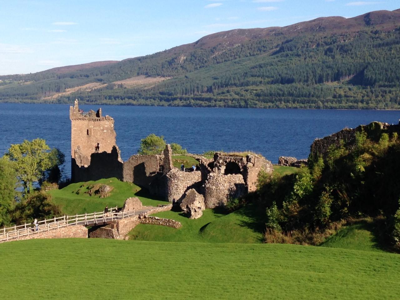 Skotsko + Edinburgh + pohoří Glen Coe + Fort Augustus + jezero Loch Ness + loď Britannia + Rosslynská kaple