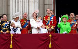 Londýn + Trooping the Colour (oslava 91.narozenin královny)