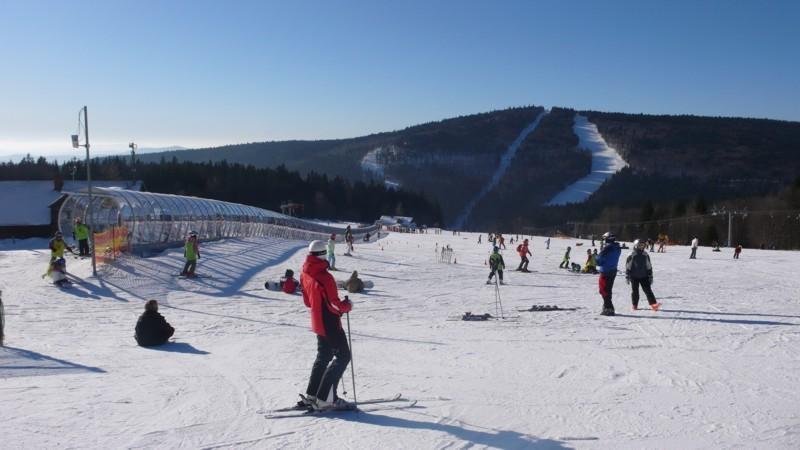 Jarní prázdniny - lyžování v Rakousku