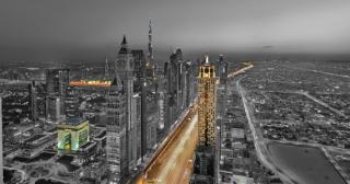 Spojené arabské emiráty- kombinace Dubaj a Abu Dhabí