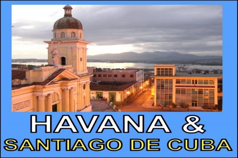 Kuba - Limonádový Joe HAVANA / SANTIAGO DE CUBA