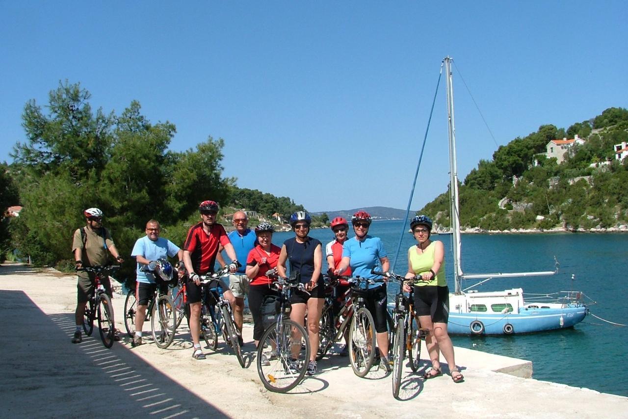Cyklozájezd Chorvatsko