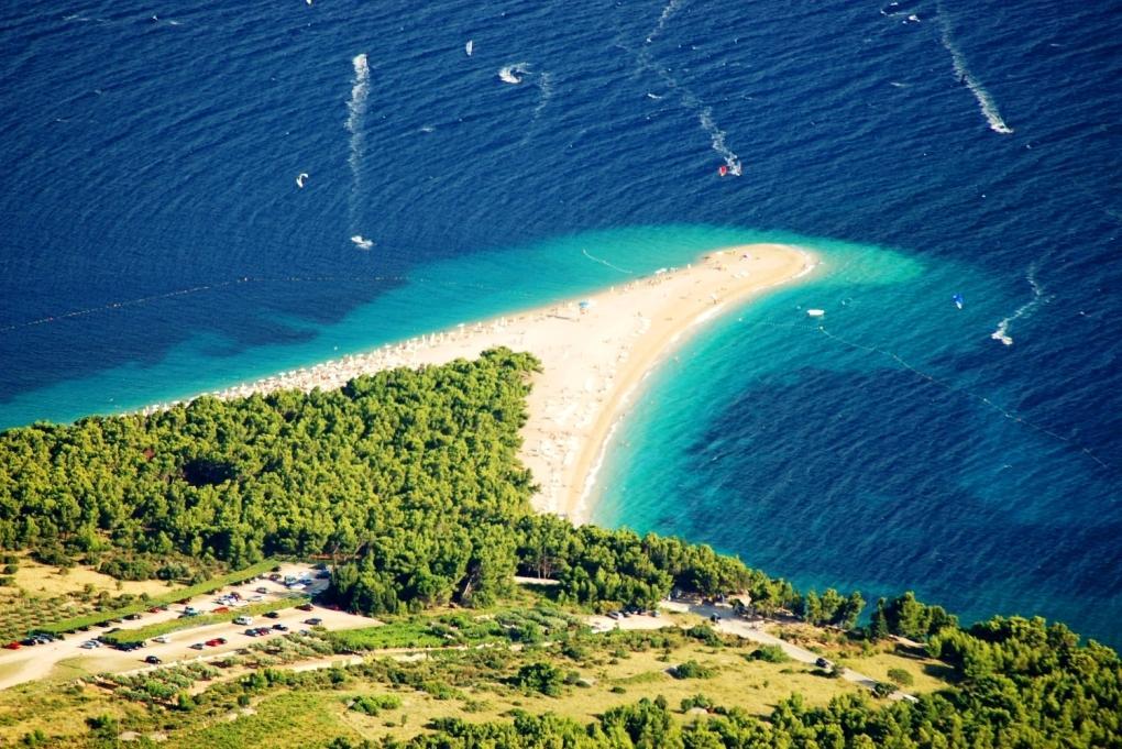 Dalmácie - poznávací zájezd s pobytem a koupáním na plážích Makarské riviéry