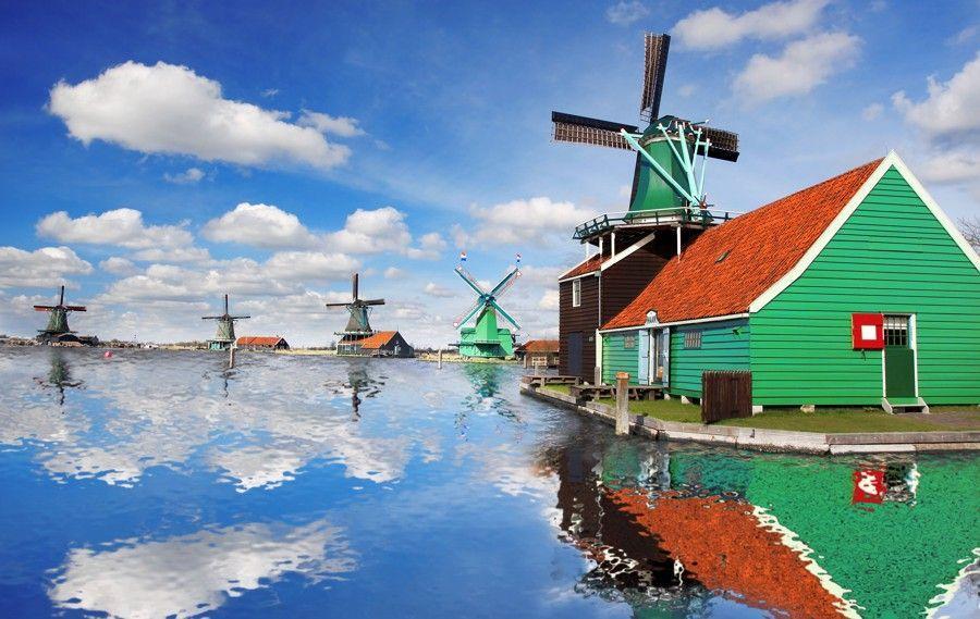 To nejlepší z Holandska, Amsterdam, Zaanse Schans, Keukenhof