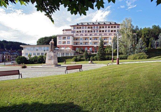 Hotel Palace, Luhačovice, Česká republika: Pobyt pro seniory