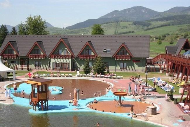 Hotel Bešeňová, Liptov, Slovensko: Relaxační pobyt s celodenním vstupem do aquaparku