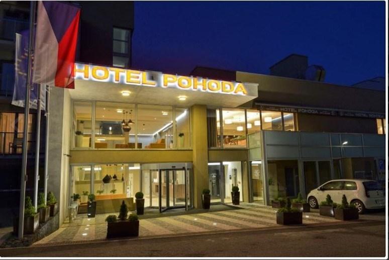 Wellness hotel Pohoda, Luhačovice, Česká republika: Lázeňský víkend 2 noci